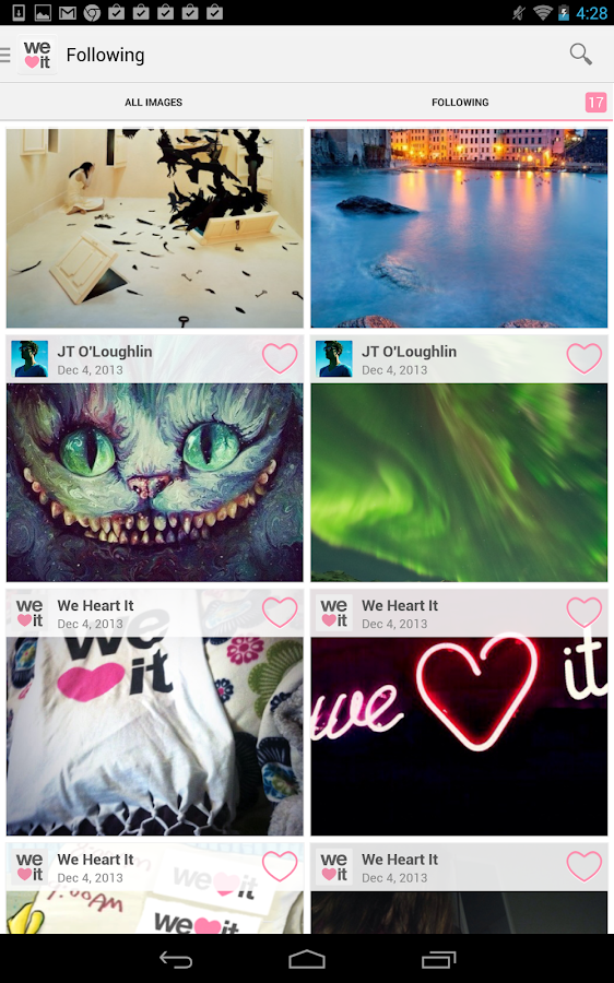 We Heart It - screenshot