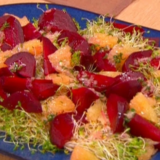Roasted Beet and Grapefruit Salad Recipe