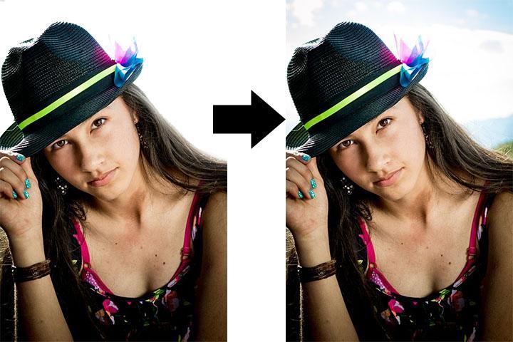 Photo Background Change