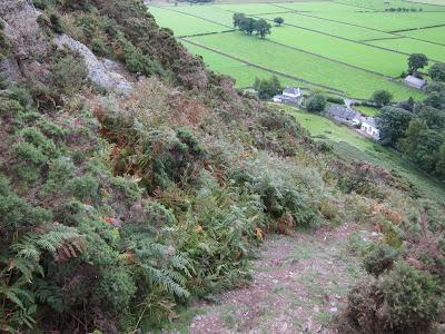 Bottom of Bowscale Fell east ridge