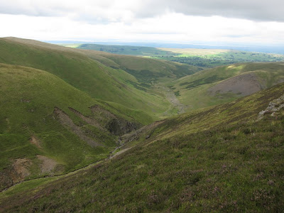 View down to Roughton Gill from Little Lingly Hill