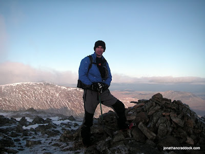 At the summit of Hart Crag