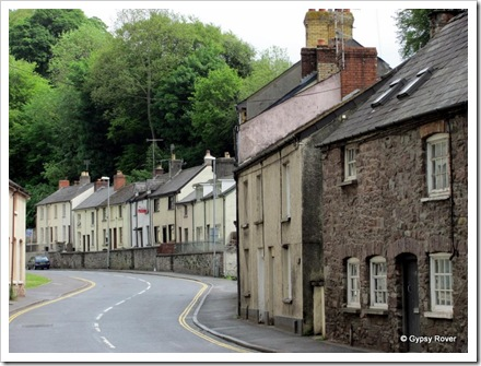 Miners cottages Brecon.