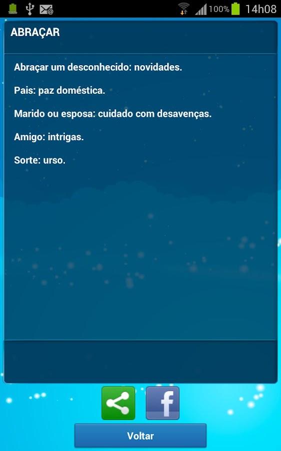 Significado dos Sonhos - screenshot