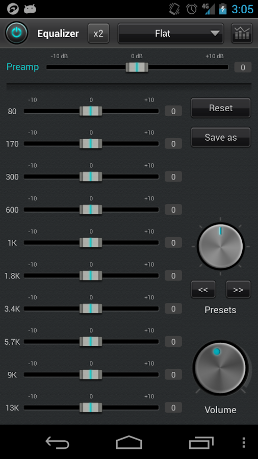 jetAudio Music Player Plus - screenshot