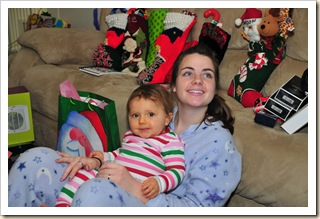 Ashley Burnett, Madison Sage, Christmas 2009