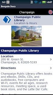 Champaign Public Library - screenshot thumbnail