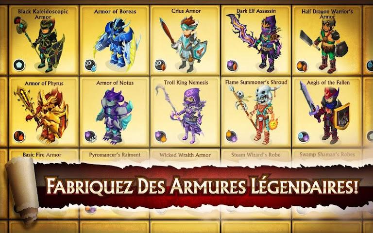 android Knights & Dragons - Action RPG Screenshot 2