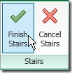 finish stair