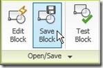 save block