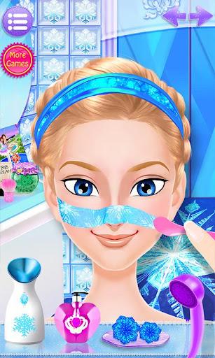 冰雪皇后傳奇: 高冷女神化妝游戲