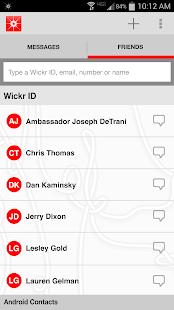 Wickr-Top Secret Messenger - screenshot thumbnail