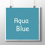 Aqua Blue CM11 theme v1.7