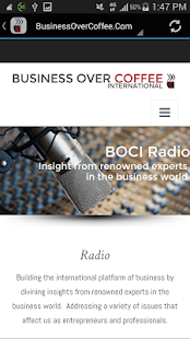 Business Over Coffee- screenshot thumbnail