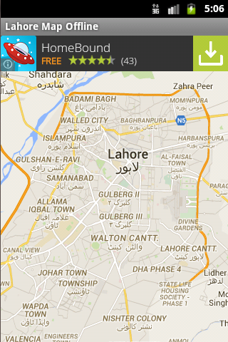 Lahore City Maps Offline