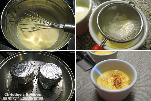 Ginger Creme Brulee Procedures