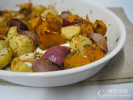 迷迭香焗雜菜 Roast Vegetables with Rosemary