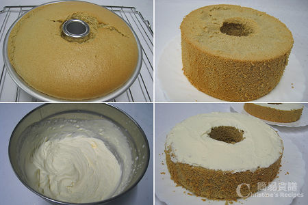Green Tea Chiffon Cake Procedures02