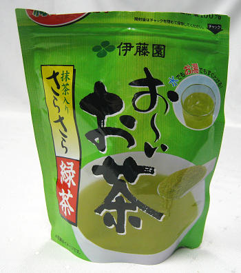 綠茶粉 Powdered Green Tea
