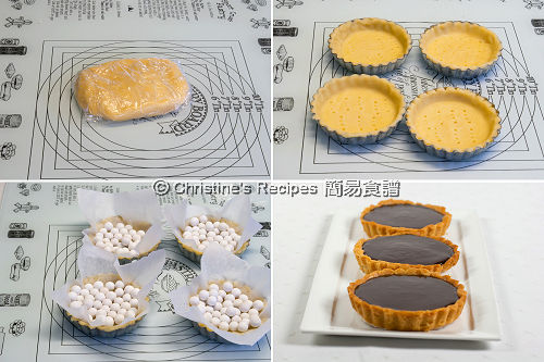 Chocolate Strawberry Tarts Procedures02