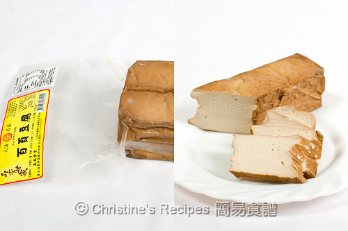 百頁豆腐 Frozen Fried Tofu