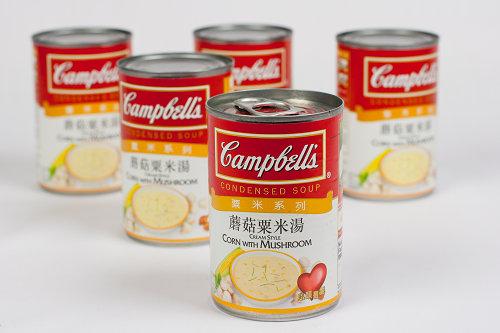 金寶粟米蘑菇湯 Campbell's Corn & Mushroom Soup01