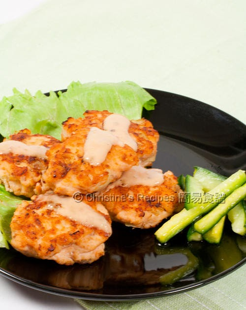 Salmon fish cakes christine 39 s recipes easy chinese for Salmon fish cake recipe
