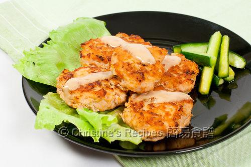 煎三文魚餅 Salmon Cakes02