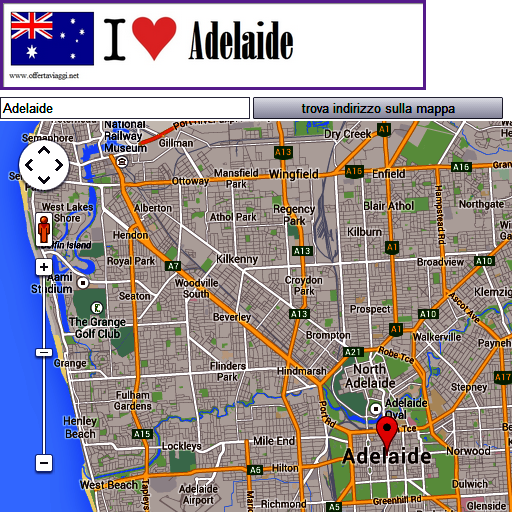 Adelaide map LOGO-APP點子