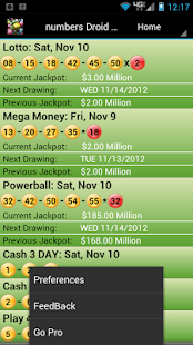 Kentucky Lottery Droid Lite - screenshot thumbnail