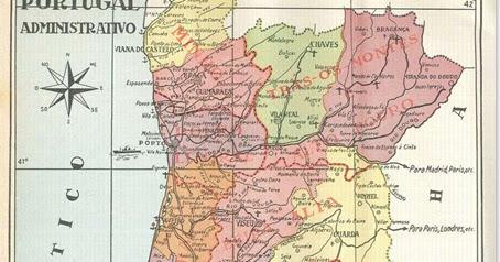 mapa administrativo de portugal Santa Nostalgia: Mapa administrativo de Portugal mapa administrativo de portugal