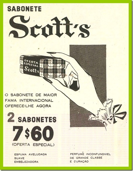 sabonete scotts sn1