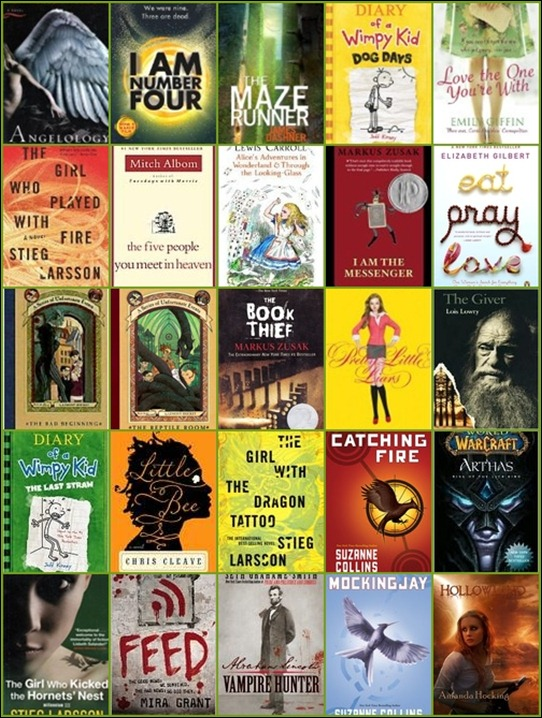 25 books for 2011