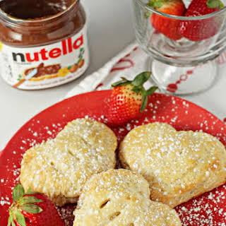 Nutella Strawberry Hand Pies.