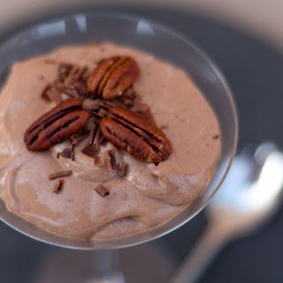 Creamy Healthy Chocolate Pudding.