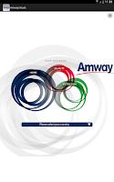 Screenshot of Amway Kiosk Europe and Russia