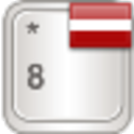 Latvian for AnySoftKeyboard logo