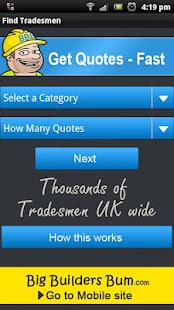 Find Tradesmen / Builders- screenshot thumbnail