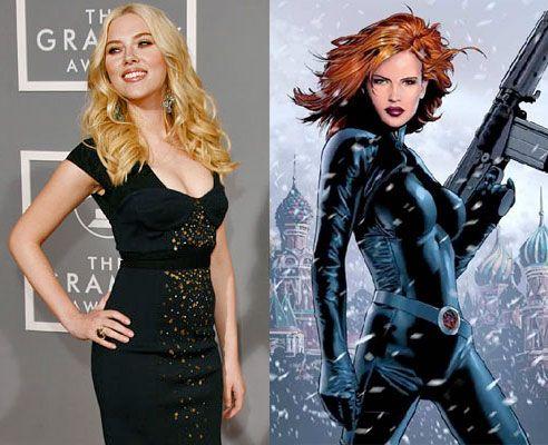 Scarlett Johansson, Black Widow, La Viuda Negra, Marvel