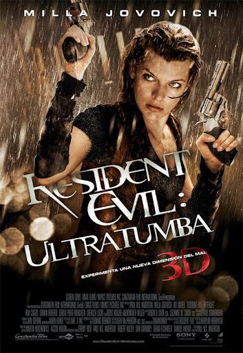 póster de Resident Evil: Ultratumba