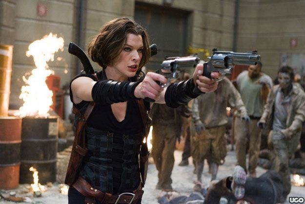 Fotograma de 'Resident Evil: Ultratumba'