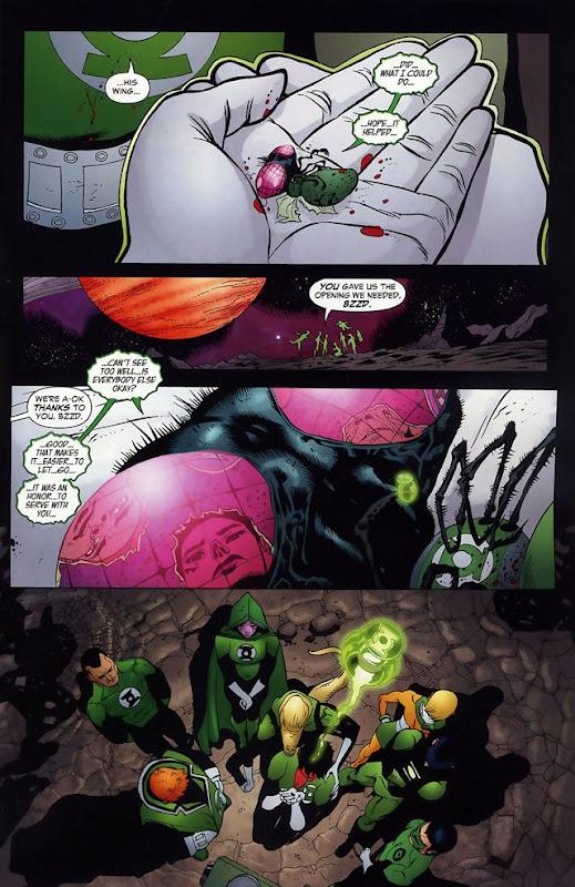Bzzd estará en Green Lantern