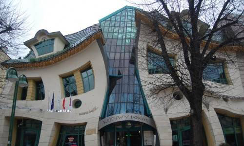 Crooked House. Sopot, Poland