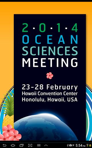 Ocean Sciences Meeting 2014