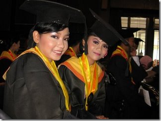 Niar's graduation two
