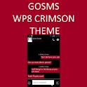 GO SMS WP8 Crimson Red Theme icon
