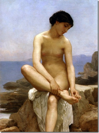WilliamBouguereau-The Bather-1879