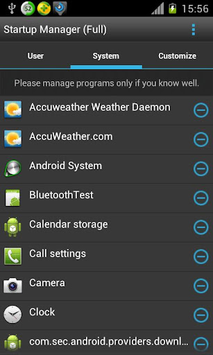 Startup Manager screenshot 2