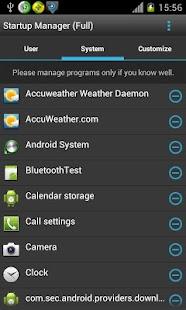 Startup Manager (Free) - screenshot thumbnail