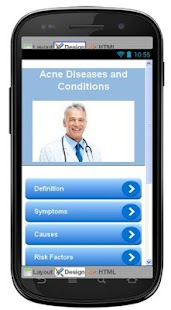 Acne Disease & Symptoms screenshot